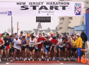 New Jersey Marathon and Long Branch Half Marathon in Long Branch, NJ